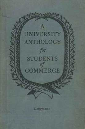 A University Anthology for Student of Commerce - [Used]