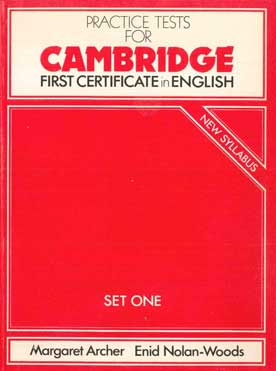 Practice Tests for Cambridge  - [Used]