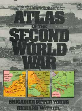 Atlas of the Second World War - [Used]