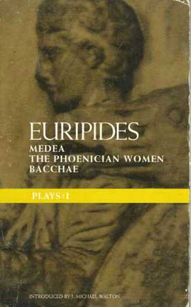 Euripides Medea-Τhe Phoenician Women-Bacchae - [Used]