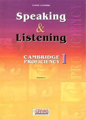 Speaking & Listening 1 Cambridge Proficiency Teacher's Book - [Used]