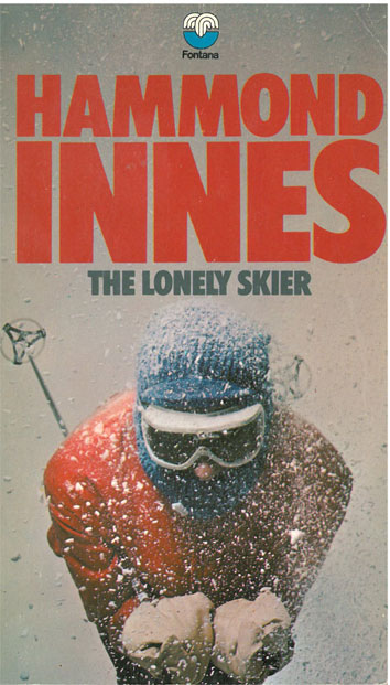 The Lonely Skier - [Used]