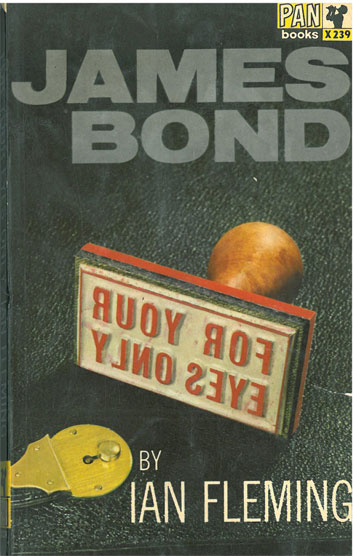 James Bond For your Eyes Only - [Used]