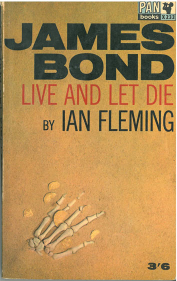 James Bond Live and Let Die - [Used]