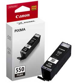 Μελάνι Canon PGI-550PGBK Black 15ml