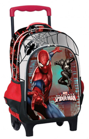 f3eaaff9e9 Bookstars    Τσάντα Τρόλεϊ Spiderman Comics (337-65074)