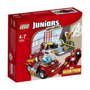 LEGO Juniors Iron Man Vs Loki (10721)