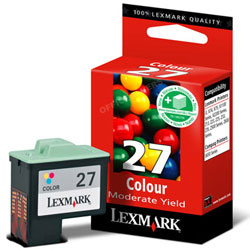 Μελάνι Lexmark (27) XL Color 10NX227E