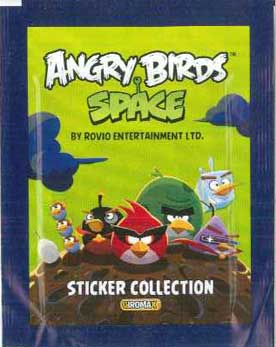 Παιδικά Stickers Angry Birds Space