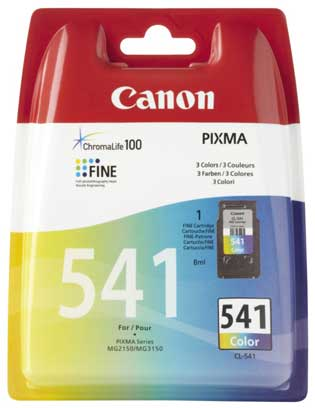 Μελάνι Canon (541)Tri Colour 8ml