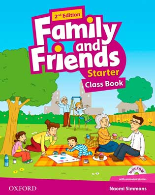 Family and Friends Starter ST/BK 2ond Edition (+Multi-Rom)