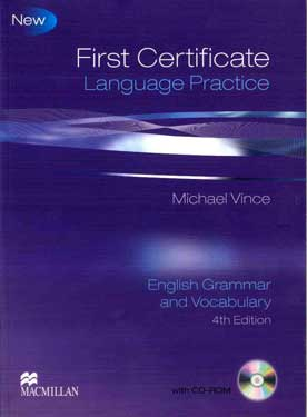 First Certificate Language Practice Grammar & Vocabulary 4th Edition +CDROM