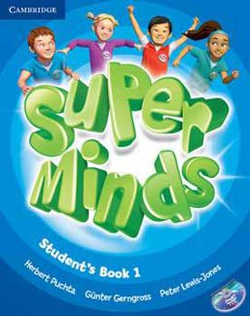 Super Minds Students Book 1 +DVD