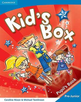 Kid's Box Pre Junior Pupil's Book