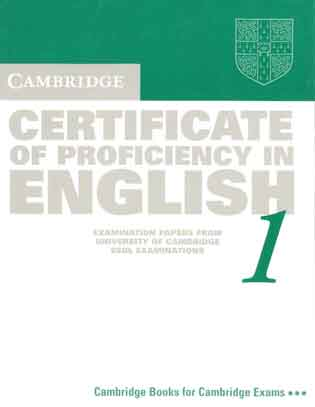 Certificate of Proficiency 1 Student's Book (CPE)