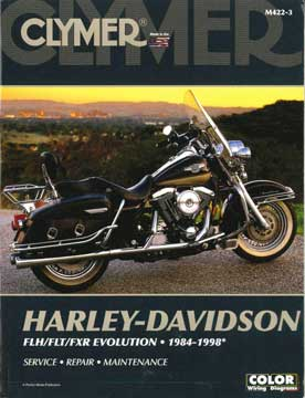 Harley Davidson FLH/FLT/FXR Evolution 1984-1998 Service-Repair-Maintenance
