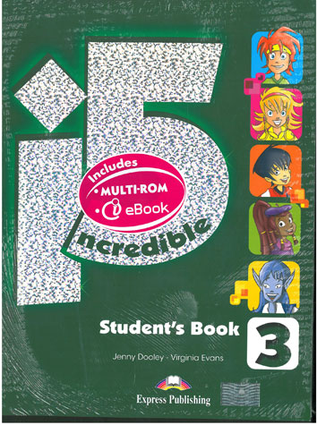 Incredible 5 Level 3 Student's Book New Powerpack (+Multi-Rom+eBook)