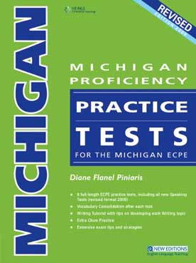 Michigan Proficiency Practice Tests ECPE (+Glossary)