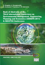 Book Of Abstracts of the 3rd International Conference on Environmental Management, Engineering, Planning and Economics (CEMEPE 11) and SECOTOX Conference