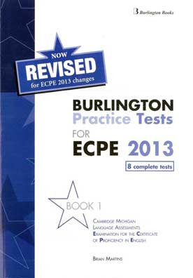 Burlington Practice Tests for ECPE 2013 Book 1 Revised Student's Book